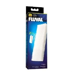 2 x Fluval 204/205/206/304/305/306 Foam 2 in a Pack Replacement Sponge Filter